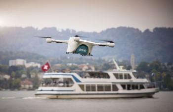Nový spôsob doručovania: Balíky v Zürichu doručujú drony