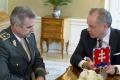 Prezident A. Kiska prijal T.Gašpara kvôli vyhláseniu o migrácii