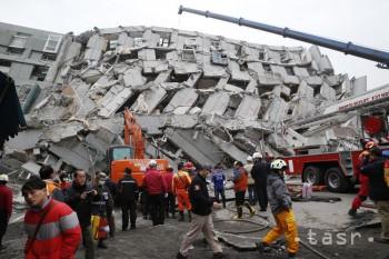 VIDEO: Taiwan zasiahlo zemetrasenie, sedem mŕtvych vrátane novorodenca