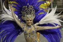 Tanečnica, karneval, Sao Paolo