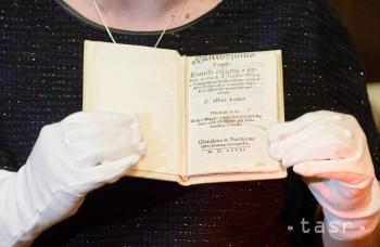 VIDEO: Apponyiovská knižnica vystavuje najvzácnejšiu knihu Slovákov