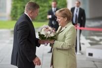 R. Fico navštívil A. Merkelovú