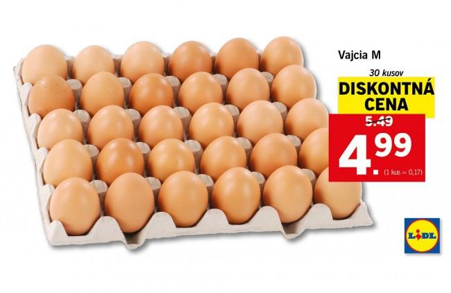 Kríza sa končí, Lidl zlacňuje vajcia