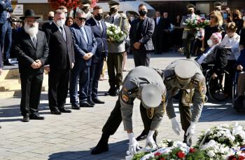 Pripomenuli si pamätný deň obetí holokaustu a rasového násilia