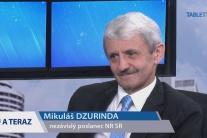 DZURINDA: Mám rád politiku, aj Slovensko. Áno, svrbia ma dlane