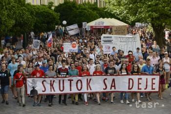 Študenti pripravili na dnes tretí protikorupčný pochod