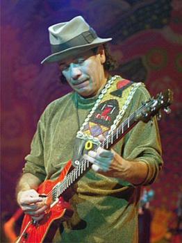 Gitarista Carlos Santana oslávi 70. narodeniny