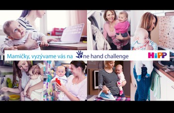 Zapojte sa do ONE HAND CHALLENGE a vzdajte hold všetkým mamám