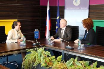 Bulharská veľvyslankyňa na EU v Bratislave