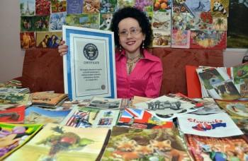 Servítková Tonka, Slovenka v Guinnessovej knihe rekordov