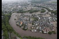 Japonsko po prívalových dažďoch