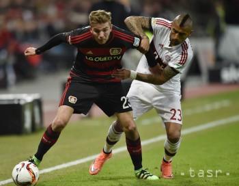 Majstrovský Bayern Mníchov remizoval na ihrisku Bayeru Leverkusen