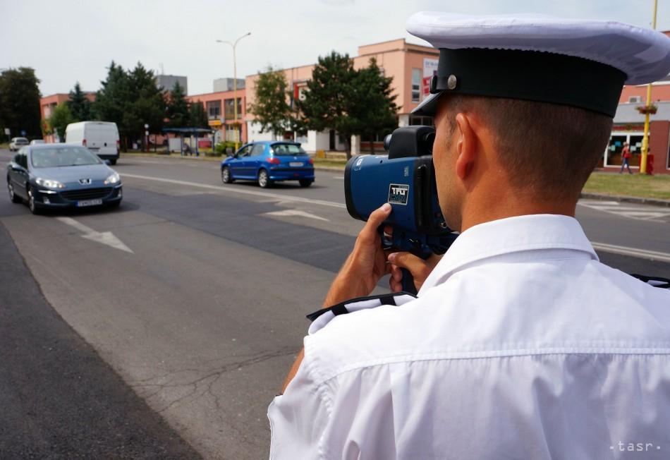 PRIPRAVTE SA  Na týchto cestách vás môžu zastaviť policajti 8d38a28fb43