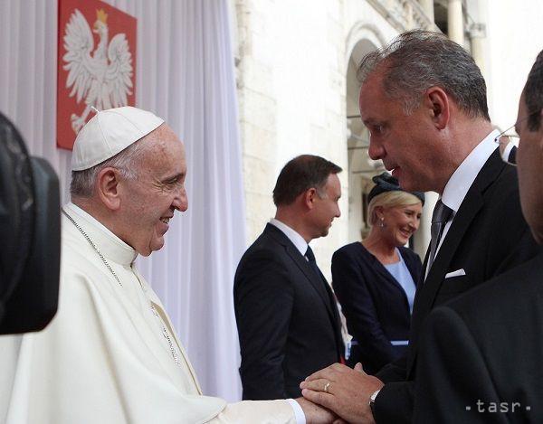 Prezident A. Kiska pozval pápeža na Slovensko