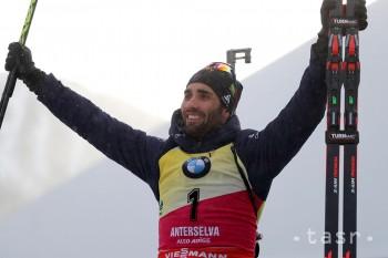 Francúz M. Fourcade zvíťazil v šprinte 9. kola a získal malý glóbus