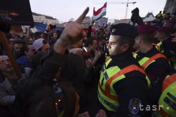 V Budapešti sa opäť demonštrovalo. Tentokrát proti ruskému vplyvu