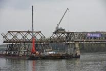 Demontáž Starého mosta