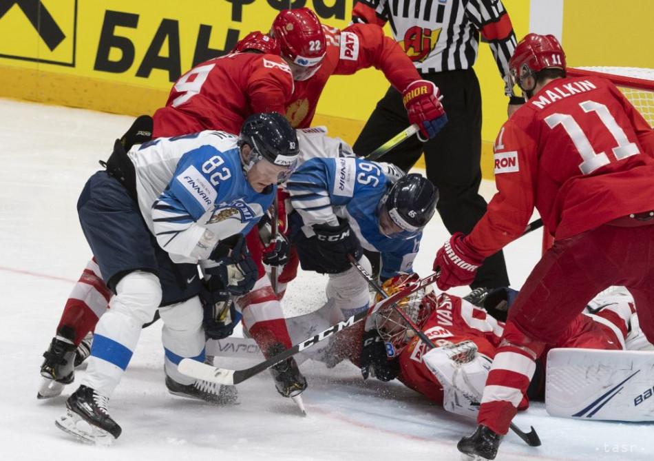 3dd1ab328e5ff Prvú semifinálovú bitku na MS vyhrali Fíni, Rusi im nestrelili ani gól