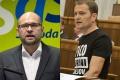 ZÁBERY Z NAKRÚCANIA DRUHEJ DISKUSIE: Richard Sulík a Igor Matovič