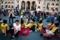 VIDEO: Maďari protestovali proti zákonu o financovaní mimovládok