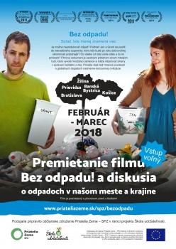 Filmové turné Bez odpadu! chce inšpirovať k zmene