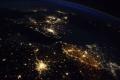 Astronaut z ISS upozornil na žiarivé osvetlenie ciest v Belgicku