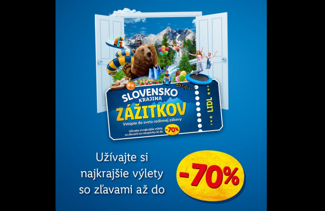 Lidl prispeje zákazníkom na výlety a dovolenky na Slovensku