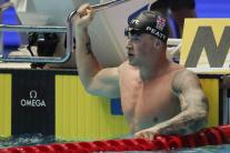 Britský plavec Adam Peaty