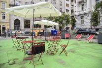 Otvorenie verejného priestoru na Komenského námest