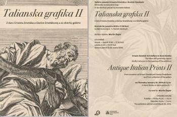 Talianska  grafika II.