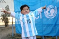Rodina chlapca, ktorému Messi daroval dres, utiekla z Afganistanu