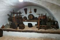 Expozícia vinárstva