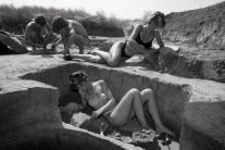 UNIKÁTNE FOTO: Keď sa muselo v najväčších horúčavách pracovať