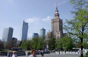 Aj Varšava má svoju Eiffelovku. Najvyššiu budovu dal postaviť Stalin