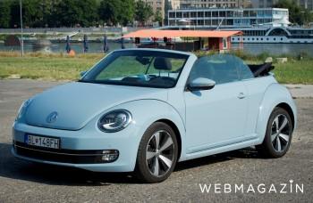 VW Beetle Cabriolet: Starý dobrý Chrobák v novom šate bez strechy