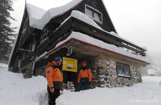 V Tatrách pribudli checkpointy na diagnostiku lavínových vyhľadávačov