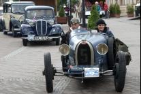 Odštartovali medzinárodnú Veteran Rallye