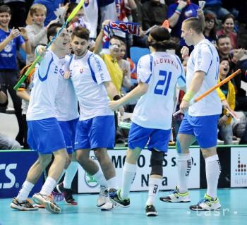Skvelá správa: Slovenskí florbalisti zdolali Rusov, pôjdu na šampionát