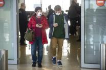 Zdravotná kontrola cestujúcich na letisku