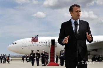 Macron: Chceme pracovať na novej jadrovej dohode s Iránom