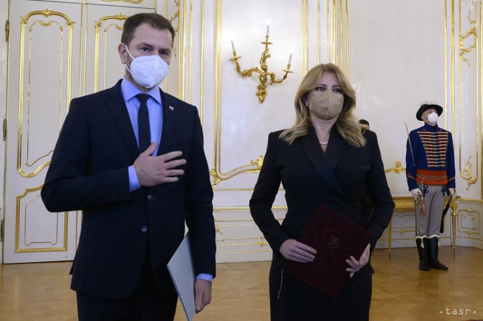 Prezidentka prijala demisiu Matoviča, zostavením vlády poverila Hegera