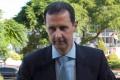 Asad na sviatok konca ramadánu navštívil lokalitu mimo Damasku