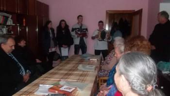 Drevári spríjemnili jeden októbrový deň obyvateľom Domova dôchodcov