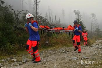 Záchranári v Tatrách pomáhali dvom uviaznutým nemeckým horolezcom