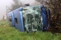 Pri Dortmunde havaroval český autobus; hlásia zranených