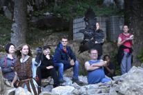 Noc hradov a zrúcanín - Hrad Lednica