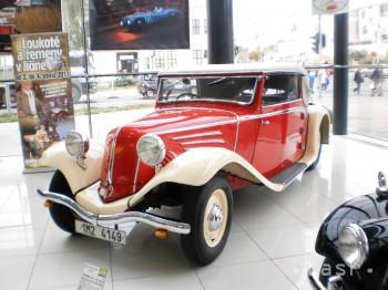 Výstava historických vozidiel v Nitre