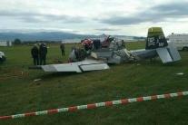 Pilot lietadla, ktoré sa zrútilo v Prievidzi, bol z Dubnice nad Váhom