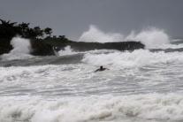 Búrka Isaac vyčíňala a Haiti a Dominikánskej repub