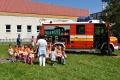 TOPOĽČANY: Škôlkari sa učili privolať pomoc záchranných zložiek